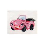 Tikkimiskomplekt Roosa auto HB-108 firmalt Riolis