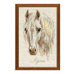 Tikkimiskomplekt Valge hobune