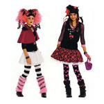 Jaapani Lolita-stiil, Kasv 116-170 cm / Japanese Lolita's / Burda 2395