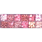 Tsehhi klaaspärlite valikkarp