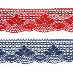 Puuvillane pits / Cotton (Crochet) Lace / 3185 laiusega 7cm