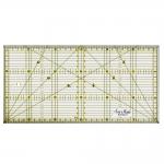 Läbipaistev plastjoonlaud / Clear View Plastic Ruler 15cm x 30cm / SewMate (Taiwan) #1530-2