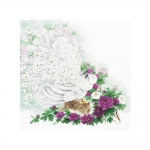 Tikkimiskomplekt Valge paabulind Art.Premium 100/030 firmalt Riolis