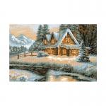 Tikkimiskomplekt Talvine maastik Art.1080 firmalt Riolis