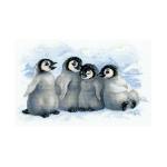 Tikkimiskomplekt Mõnusad pinviinid Art.1323 firmalt Riolis
