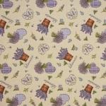 Gobeläänkangas lavendlimustriga Art. BB/87339
