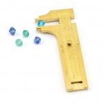 Vasest nihik, liugmõõdik kuni ø6cm esemete mõõtmiseks, Beadalon (USA) 222F-004