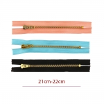 Opti metall-tõmblukud (püksilukud) 6mm hammastik, pikkus 21cm-22cm