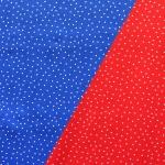 Toreda täpimustriga, erksvärviline puuvillane kangas (Lovely liberty dot), 145cm, KC2802
