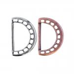 Augumustriga dekoratiivne D- aas 34x22mm
