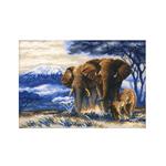 Tikkimiskomplekt elevantidega  / Riolis (Venemaa)  1144