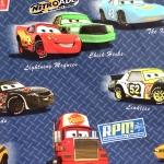 'Autod' puuvillane kangas Disney 'Nitroade' 140cm 00770-01