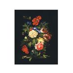Tikkimiskomplekt Suvine lillekimp 35x45cm