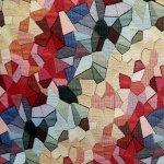 Gobeläänkangas, mosaiigimustriga, hea mööblikangas, 140cm, 87480