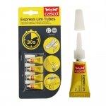 Kiirliimi pisituubid Super Glue Express Lim Tubes 4tk хx0,5g, Casco, Sika (Rootsi) 525669