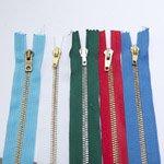 Metallist tõmblukkude pakkumiskomplekt 5tk./komplektis, pikkusega 15cm-16cm / Metal zippers