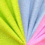 Ühevärviline pehme fliis (Lambskin fleece UNI) Art.RS0032