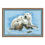 Tikkimiskomplekt Jääkarud 1033