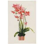 Tikkimiskomplekt Roosa orhidee 1162