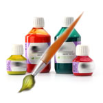 Paints, dyes