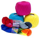 Lõngad ja heegelniidid / Yarns for Knitting and Crocheting