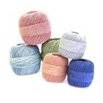 Puuvilla-segulõngad ning heegelniidid / Cotton Mixed Fibres Yarns