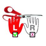 Käärid vasakukäelistele / Left hand Scissors