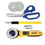Scissors, Shears, Knives & Rotary Cutters