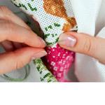 Tikkimine / Embroidery Stitching