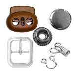 Swivels, Snap Fasteners, Hooks & Eyes