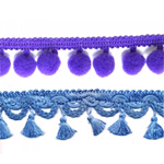 Fringe & tassel laces, trims