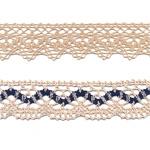 Linen, Half Linen (Crochet), Flax & Half Flax Laces