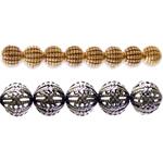 Metallist helmed ja toorikud / Metal Beads