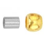 Hõbetatud/kullatud helmed / Silver/Gold Coated Beads