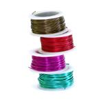 Traadid, värvilised traadid / Aluminium, Copper, Brass Wire