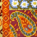 Mustrimotiivid tikkimispiltidel / Ornamental Embroidery