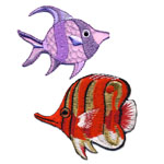 Kalad & mereelukad / Fish & Marine Animal Patches