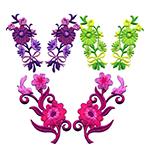 Lillede-ja liblikate paarid